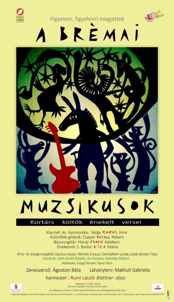 A brémai muzsikusok koncert előadása
